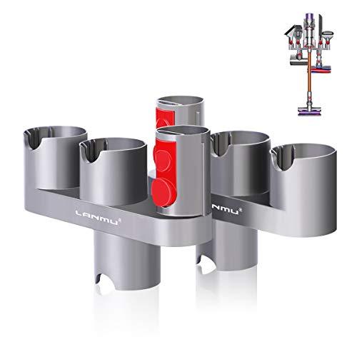 Zubehör Halter Organizer Dockingstation kompatibel mit Dyson V11 V10 V8 V7 Staubsauger Zubehörteile Halterung (2 Stück)